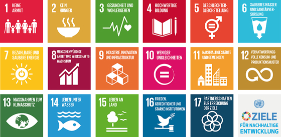 Agenda 2030 - Sustainable Development Goals (SDG) © UN - United Nations (Vereinte Nationen)
