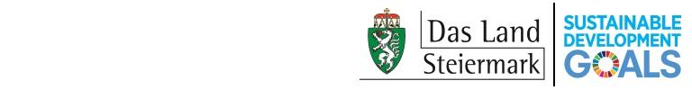 Globale Nachhaltigkeitsziele© Land Steiermark / A14